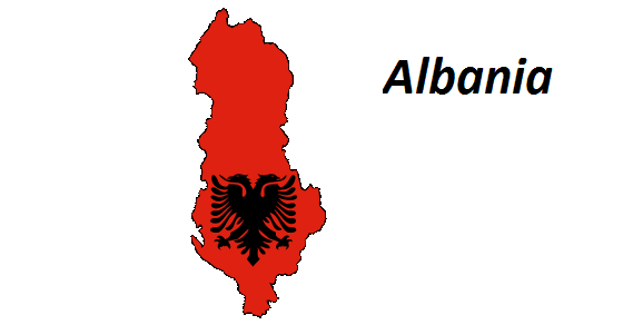 Albania grafika