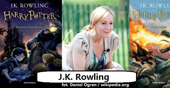 J.K. Rowling ciekawostki