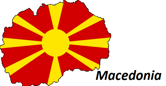 Macedonia grafika