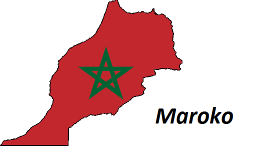 Maroko grafika