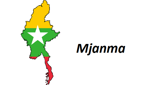 Mjanma grafika