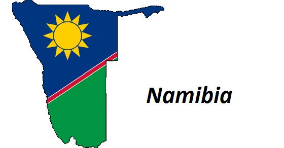 Namibia grafika
