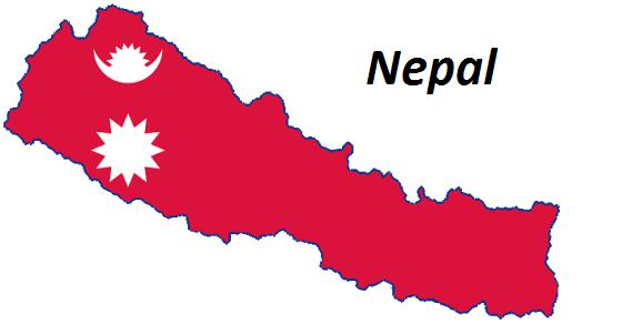 Nepal grafika