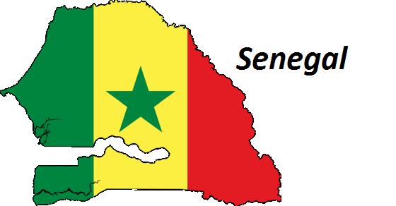 Senegal grafika