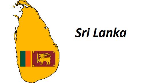 Sri Lanka grafika