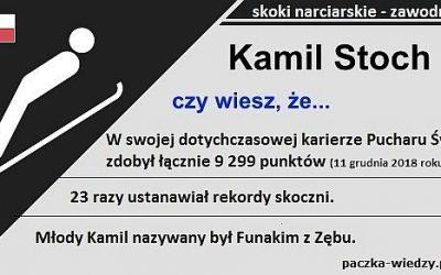 Kamil Stoch ciekawostki