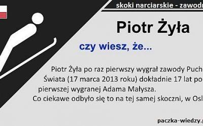 Piotr Żyła ciekawostki