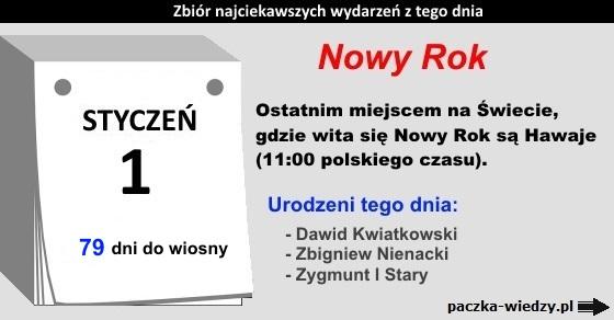 1styczeń
