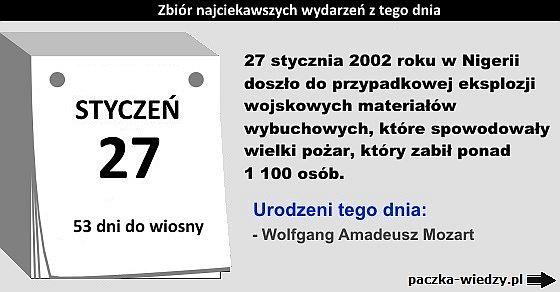 27styczeń