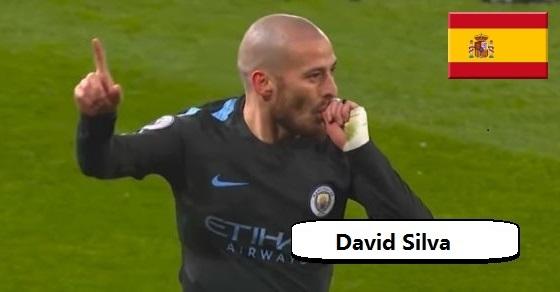 David Silva ciekawostki