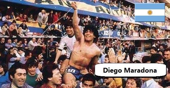 Diego Maradona zdjęcie