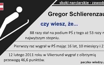 Gregor Schlierenzauer ciekawostki