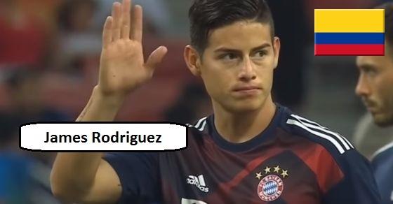 James Rodriguez ciekawostki