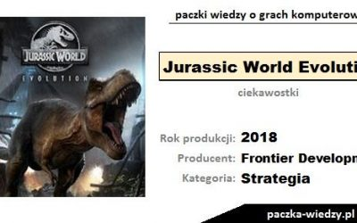 Jurassic World Evolution ciekawostki