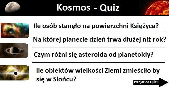 Kosmos quiz – część 1