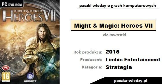 Might & Magic: Heroes VII ciekawostki