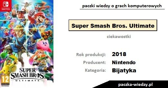 Super Smash Bros. Ultimate ciekawostki