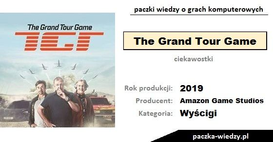 The Grand Tour Game ciekawostki