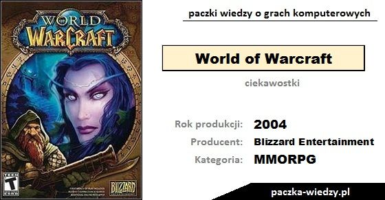 World of Warcraft ciekawostki