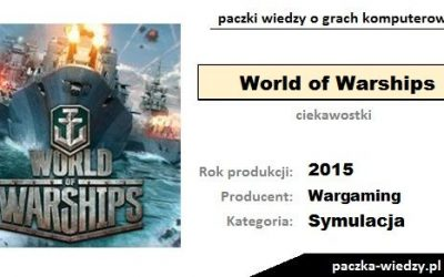 World of Warships ciekawostki