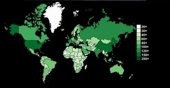 kraje świata
