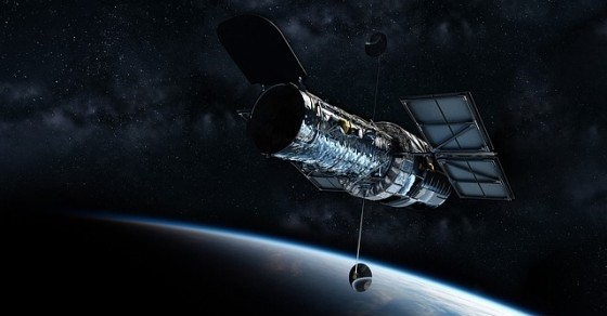 Teleskop Hubble'a grafika