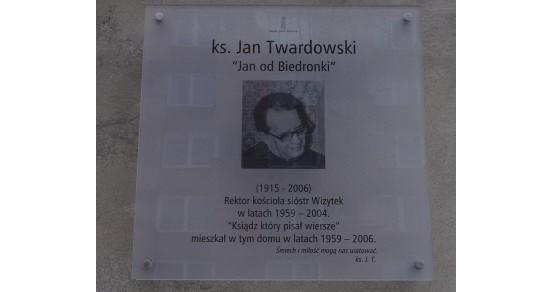 Jan Twardowski ciekawostki