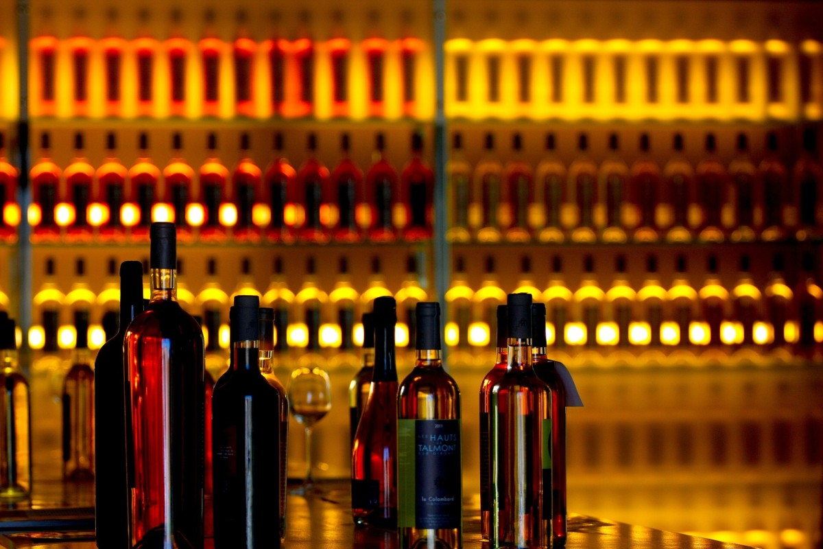 Akcesoria do wina grafika