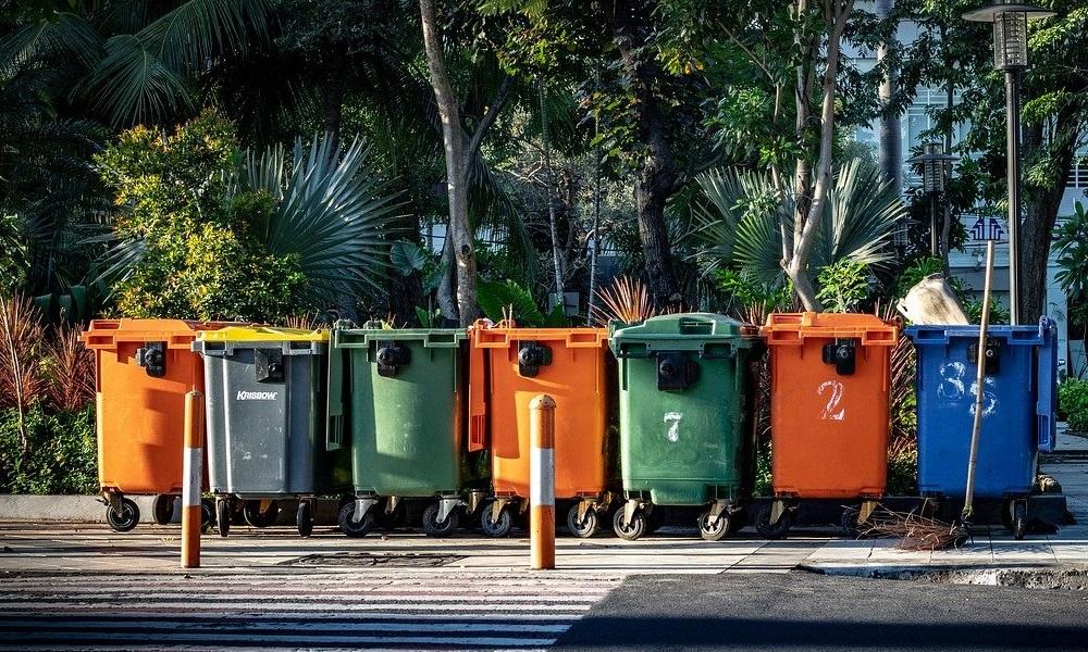 kosze do sortowania odpadów
