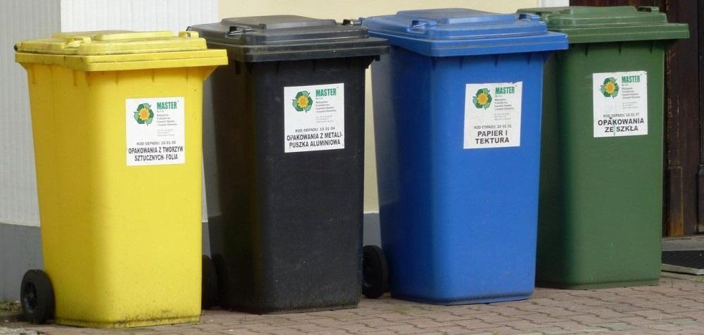 rodzaje koszów do sortowania śmieci