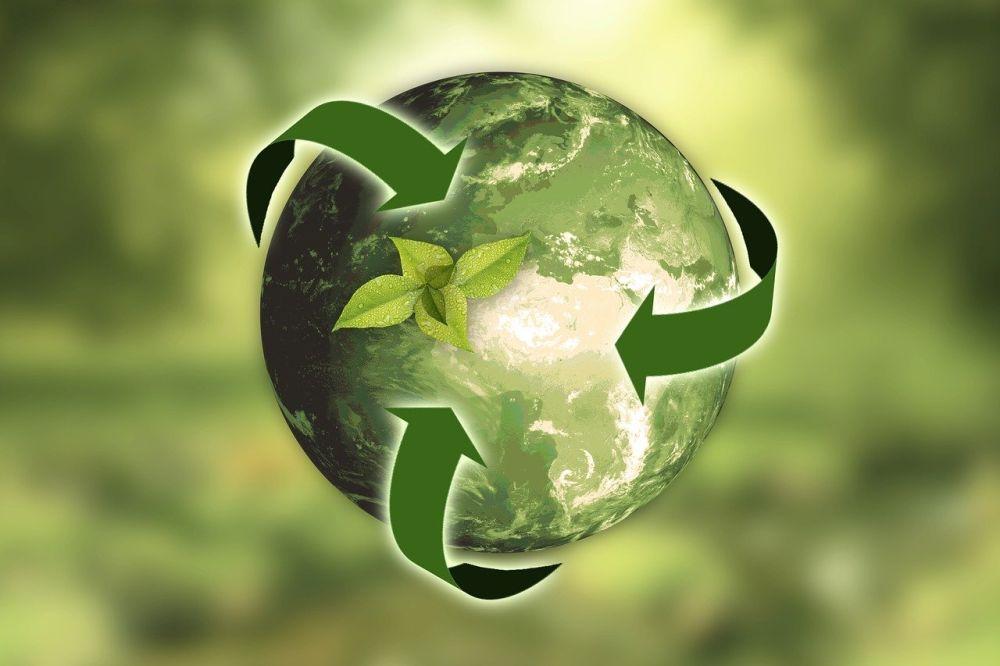 recykling grafika