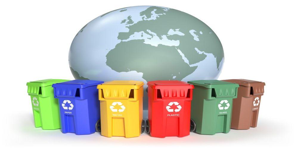 kosze do sortowania śmieci