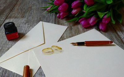 Jak przygotować projekt zaproszeń ślubnych do druku?