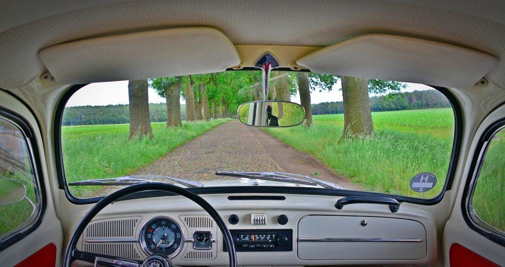 VW garbus wnętrze