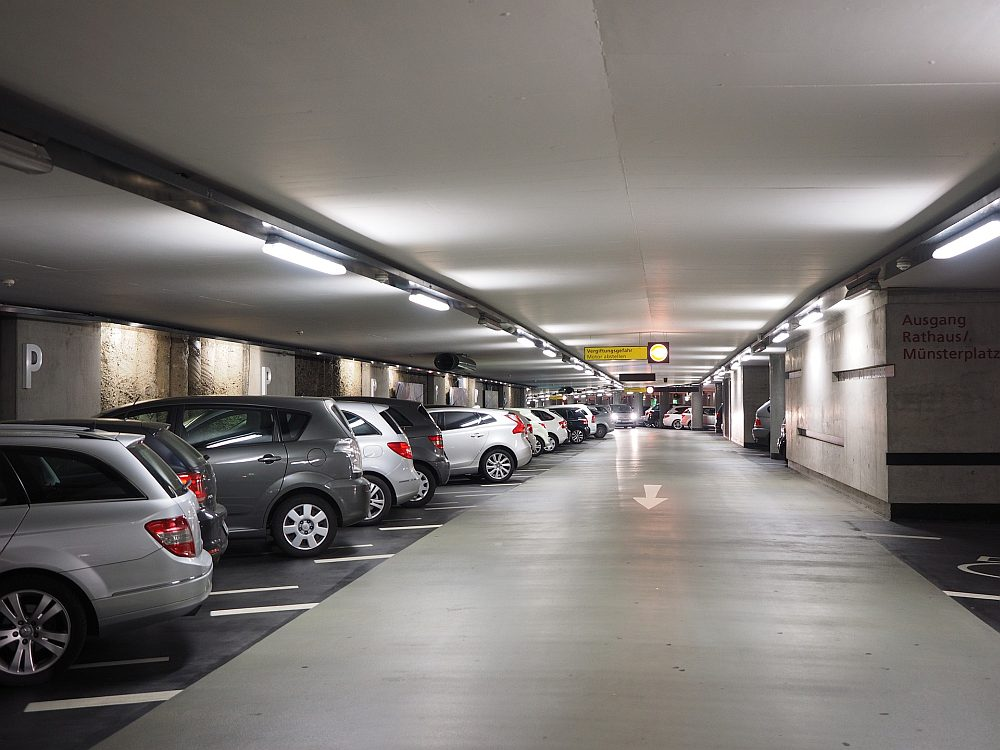 parking grafika