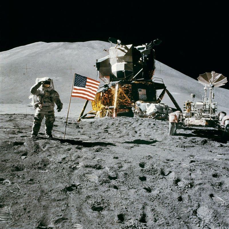 Księżyc flaga