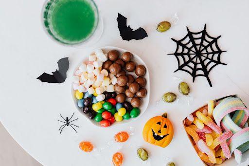 halloweenowe słodkości