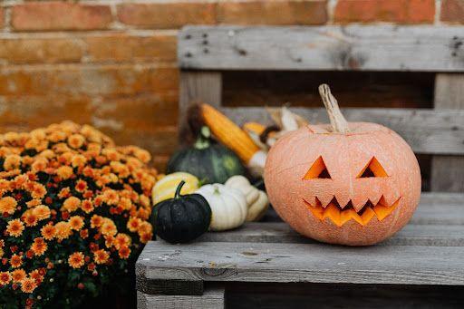 halloweenowy klimat