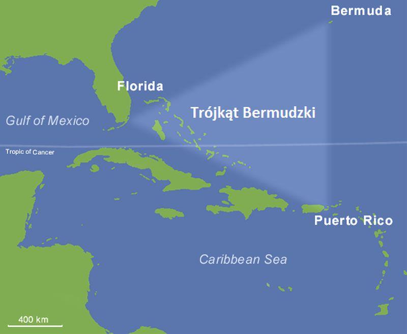 Trójkąt Bermudzki ciekawostki